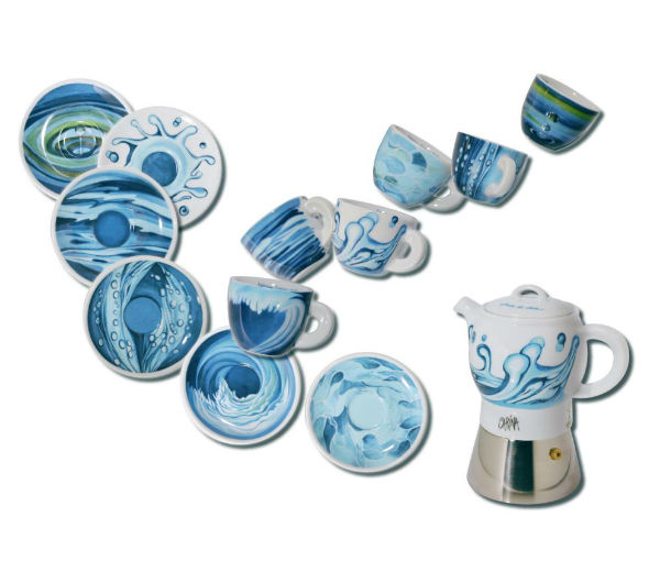 """PREZIOSA"" espresso cups collection"