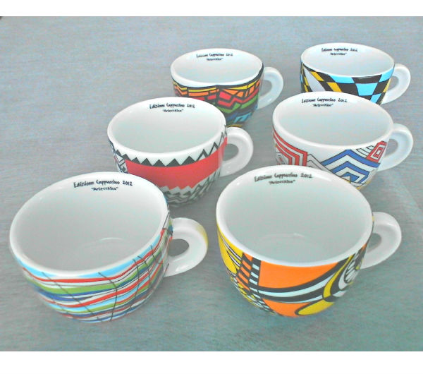 """ARLECCHINO"" cappuccino cups collection"