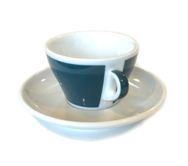 """TORINO"" Cappuccino S 150ml - green (teal)"
