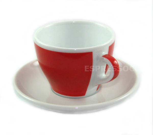 """TORINO"" Tea/Cappuccino L 200ml - red"