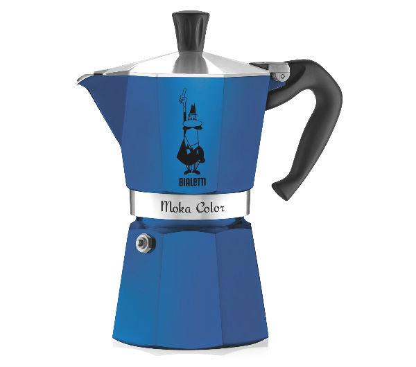 """MOKA EXPRESS"" 6 Cups - blue"
