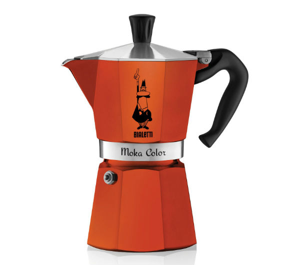 """MOKA EXPRESS"" 6 Cups - orange"