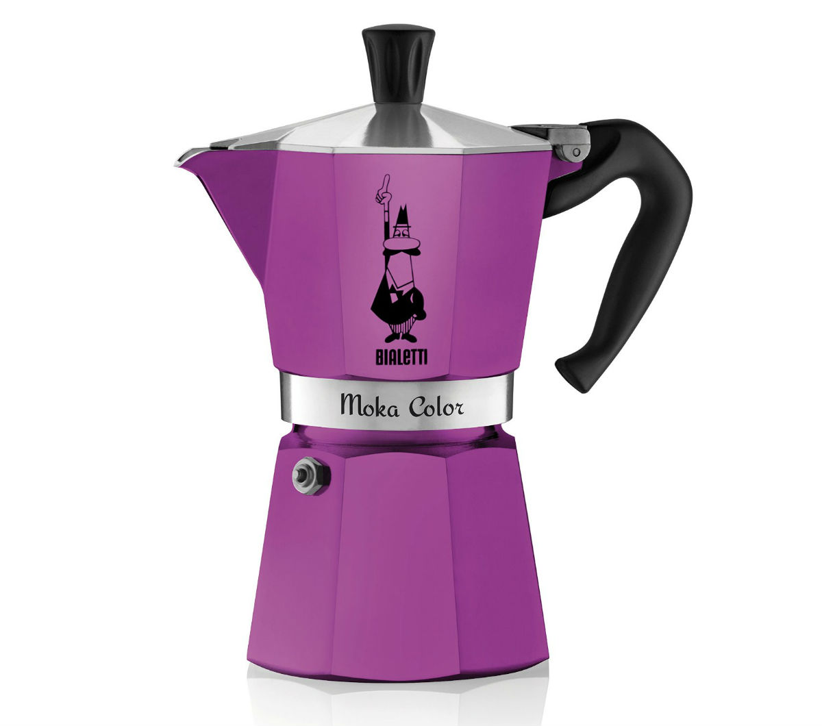 """MOKA EXPRESS"" 6 Cups - purple"