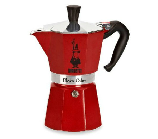 """MOKA EXPRESS"" 6 Cups - red"
