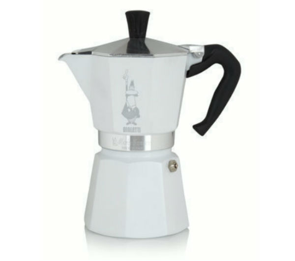 """MOKA EXPRESS' 6 Cups - white"