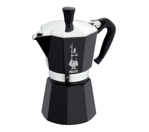 """MOKA EXPRESS"" 6 Cups - black"