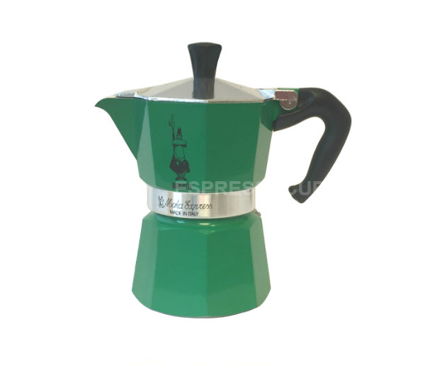 """MOKA EXPRESS"" 3 Cups - green"