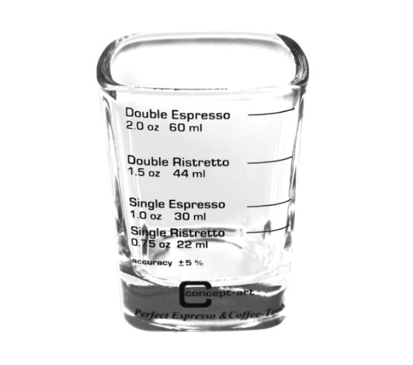 Espresso Shot Glass - square