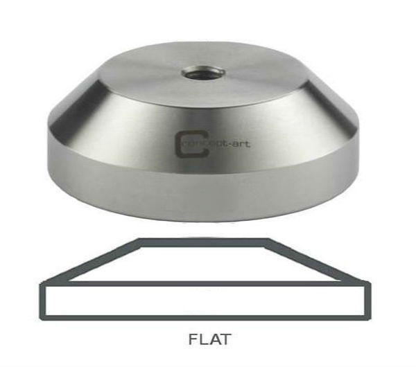"Tamper Base 58.0mm, flat - JF ""classic"""
