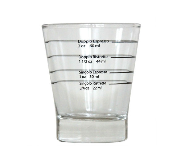 Espresso Shot Glass - round