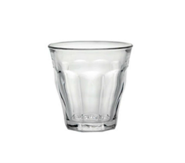 """PICARDIE"" glass tumblers (220 ml / 7 3/4 oz)"