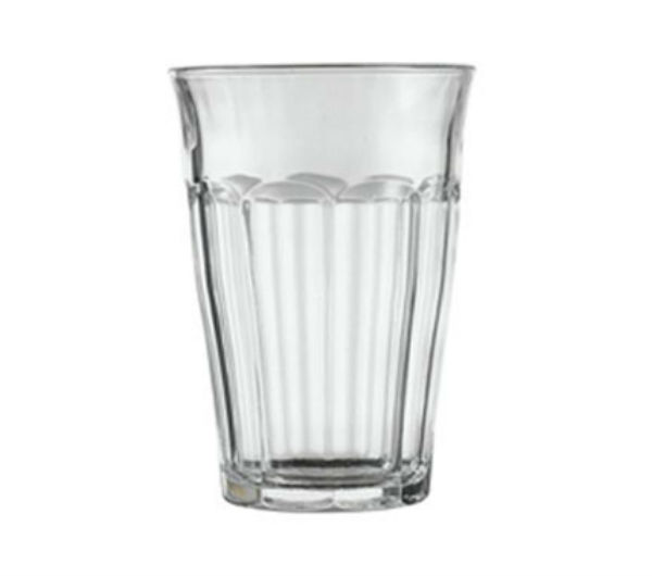 """PICARDIE"" glass tumblers (360 ml / 12 5/8 oz)"