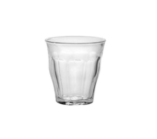"""PICARDIE"" glass tumblers (130 ml / 4 5/8 oz)"