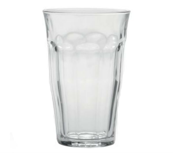 """PICARDIE"" glass tumblers (500 ml / 16 5/8 oz)"