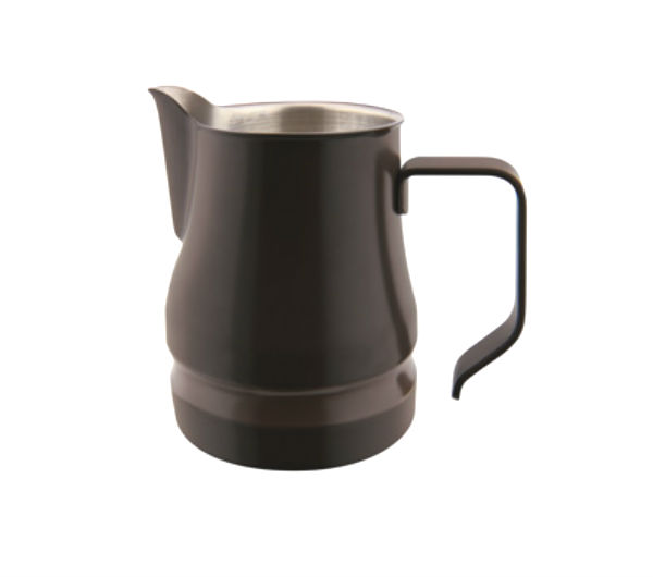 """EVOLUTION"" Milk Pitcher 35cl - dark brown (coffee)"