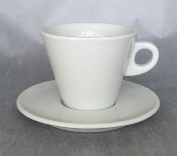 """LEONE"" Latte cups 270ml - white"