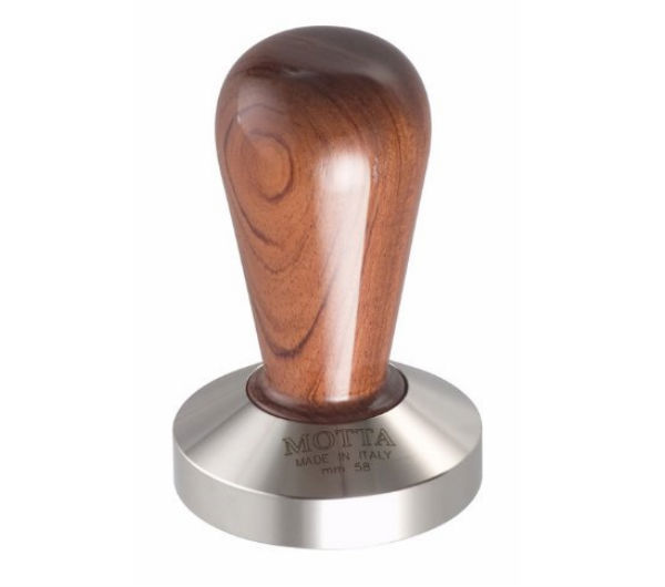 Bubinga Tamper 58mm - flat base