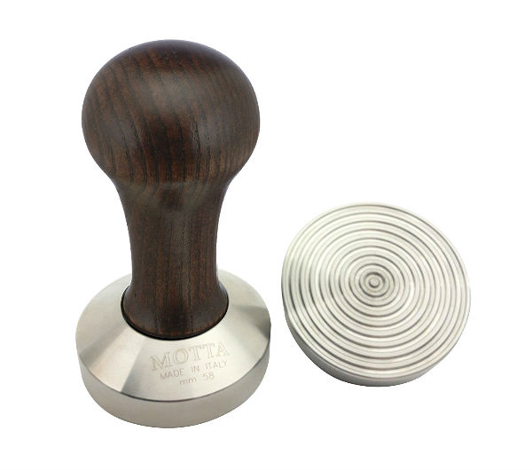 "Professional Tamper ""Wave"" - brown"