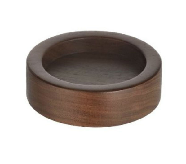 Tamper Holder - solid walnut