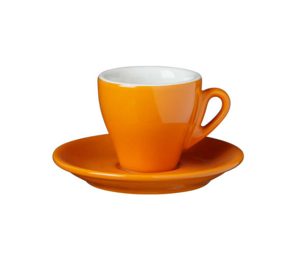 """MILANO"" espresso cups orange"