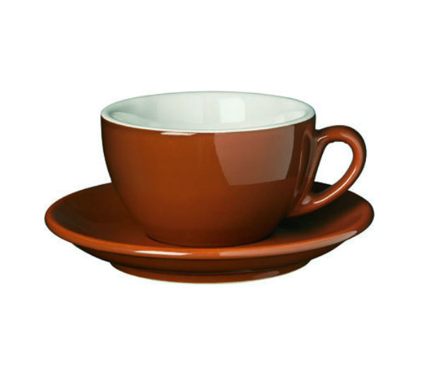 """PALERMO"" Cappuccino cups - brown"