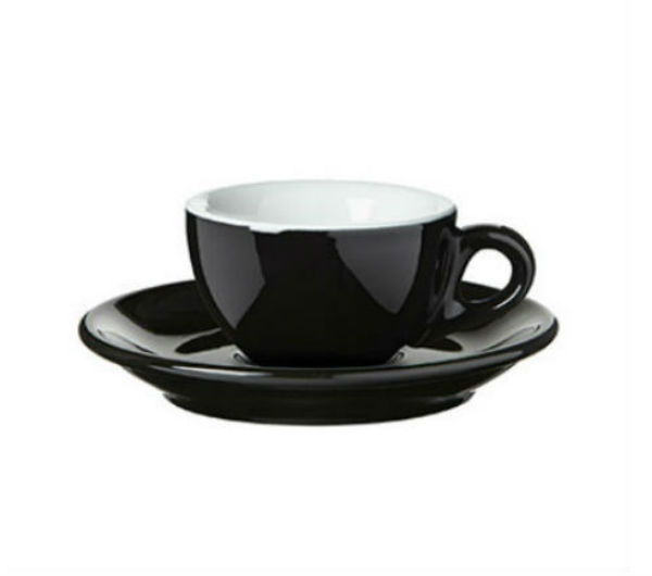 """SORRENTO"" espresso cups black"