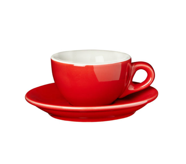 """SORRENTO"" espresso cups red"