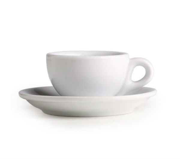 """SORRENTO"" espresso cups white"