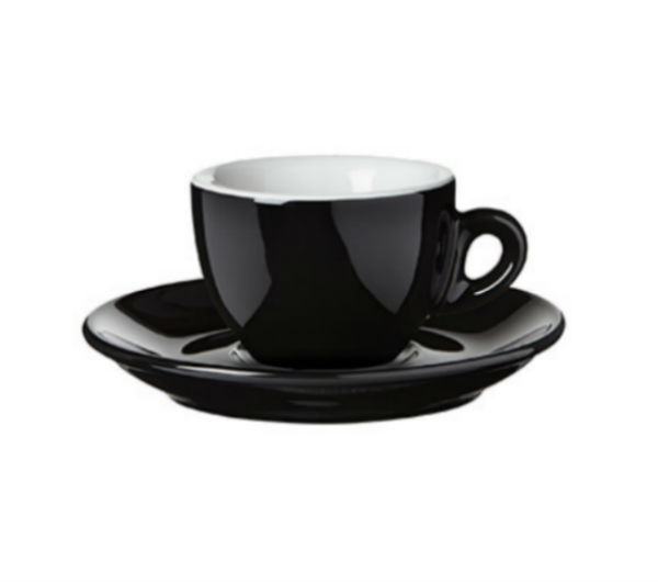 """SORRENTO OLD"" espresso cups black"