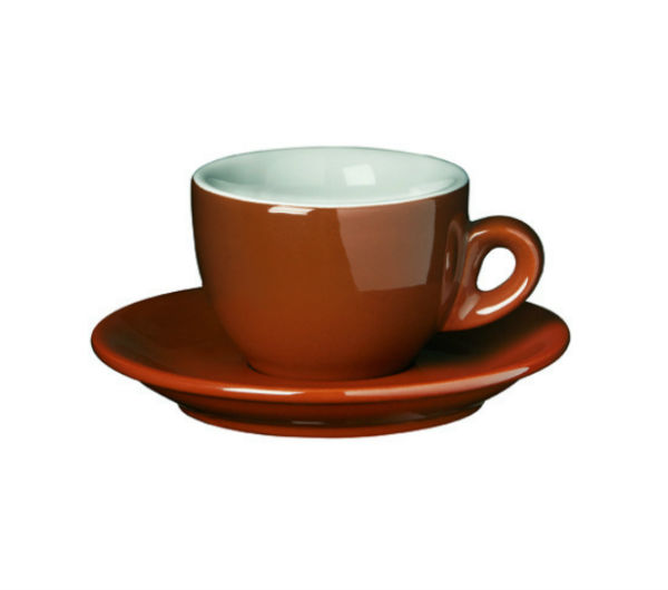 """SORRENTO OLD"" espresso cups brown"