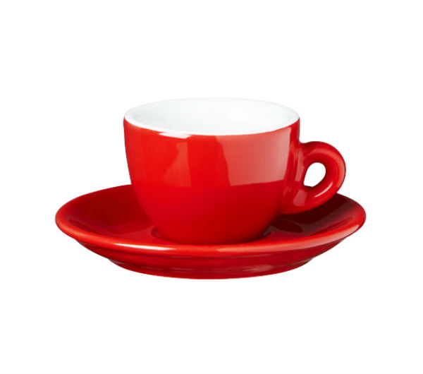 """SORRENTO OLD"" espresso cups red"