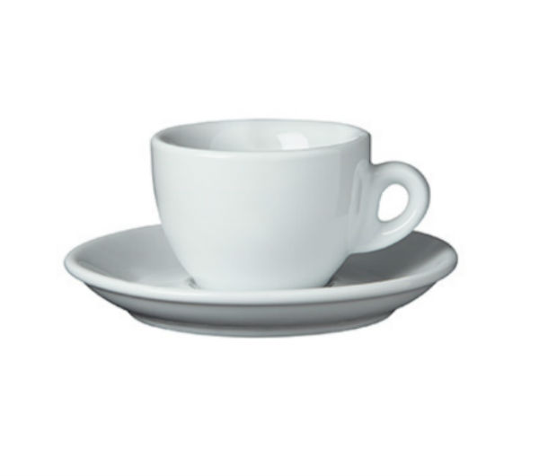 """SORRENTO OLD"" espresso cups white"