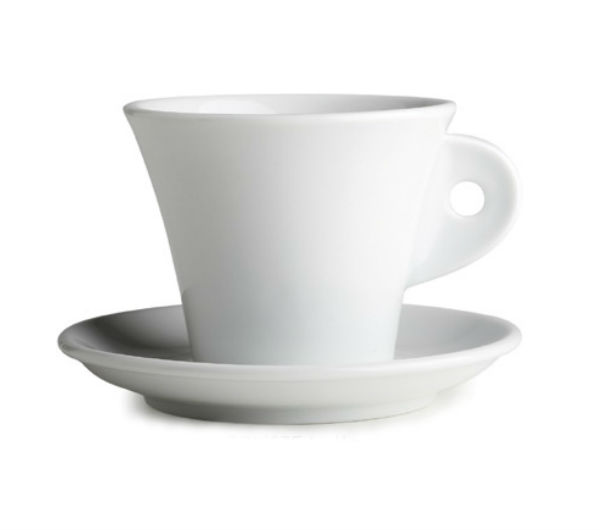 """TRIESTE"" Latte cups 290ml - white"