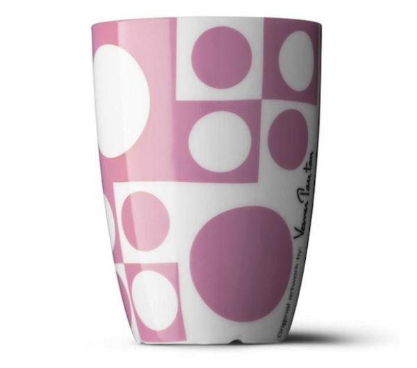 """PANTON"" Medium cups pink"