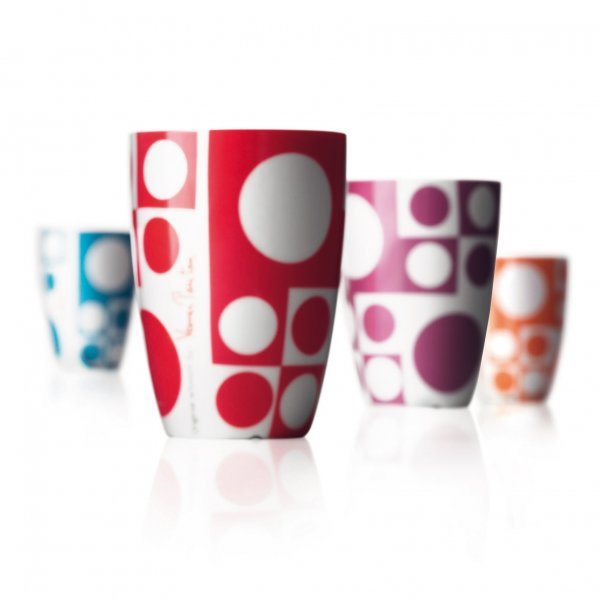 """PANTON"" Medium cups coloured"