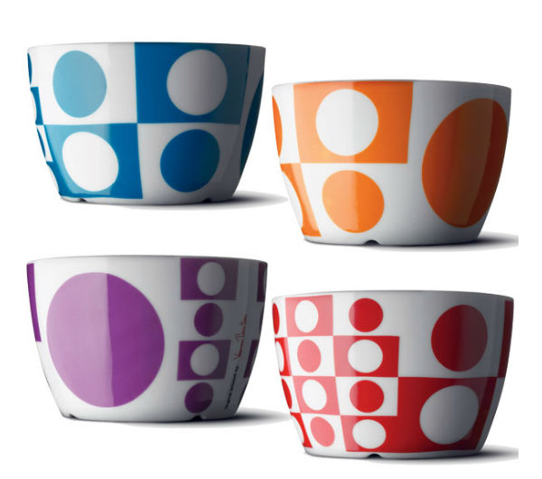 """PANTON"" bowls coloured"