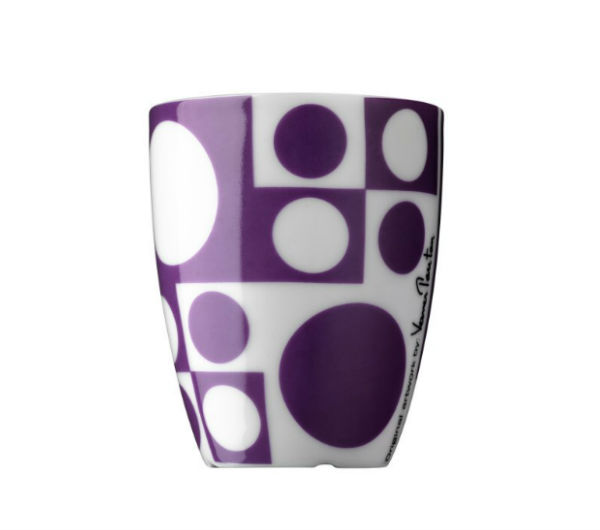 """PANTON"" espresso cups purple"