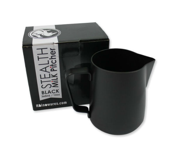 "Milk Pitcher ""STEALTH"" 360ml - black"