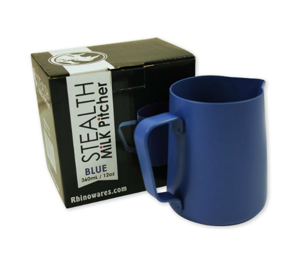 "Milk Pitcher ""STEALTH"" 360ml - blue"