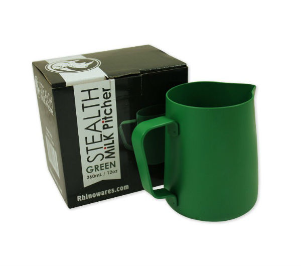 "Milk Pitcher ""STEALTH"" 360ml - green"