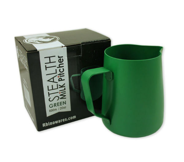 "Milk Pitcher ""STEALTH"" 600ml - green"