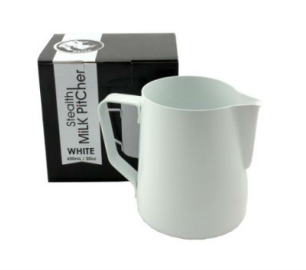 "Milk Pitcher ""STEALTH"" 600ml - white"