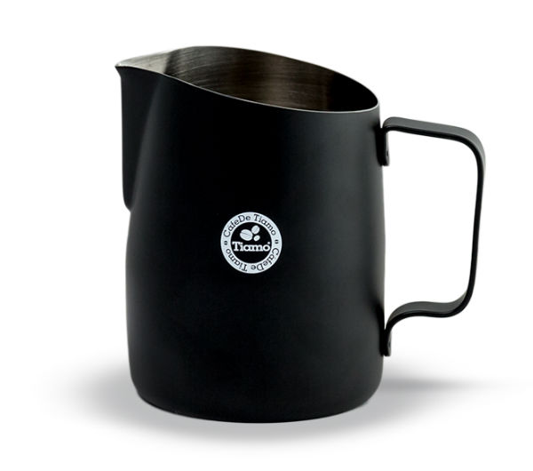 Tapered Milk Pitcher 450ml - black