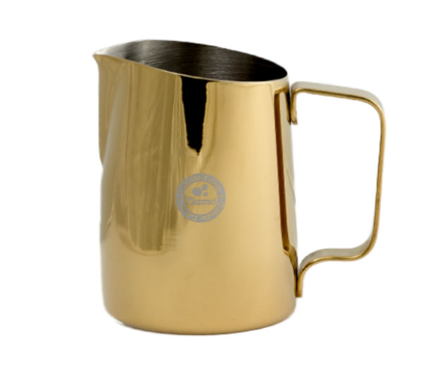 Tapered Milk Pitcher 450ml - metallic gold