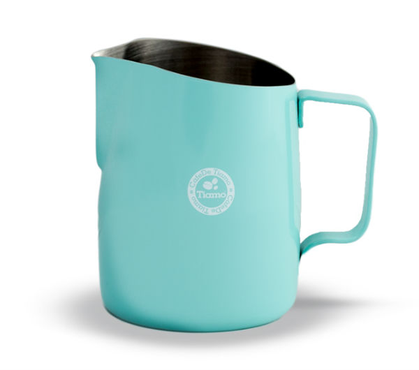 Tapered Milk Pitcher 450ml - teal blue